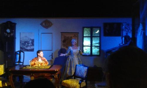 Návšteva divadelného predstavenia